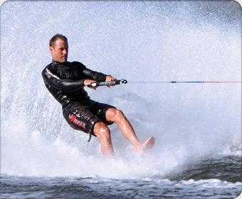 Катание на водных лыжах