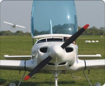 Полет на микросамолете