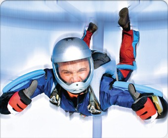 Полет в аэродинамической трубе